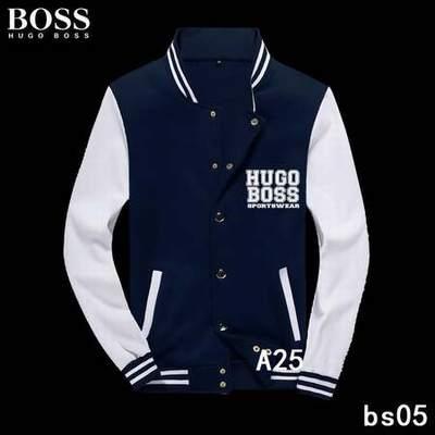 veste hugo boss homme go sport veste hugo boss bande multicolore. Black Bedroom Furniture Sets. Home Design Ideas